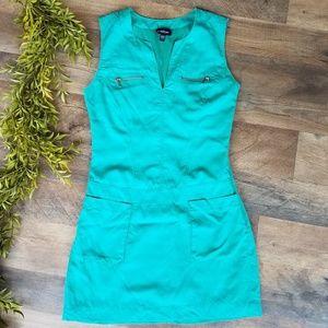 Bebe • Casual Green Dress